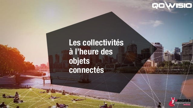Les collectivités à l'heure des objets connectés