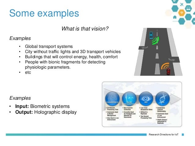 Internet of Things: Research Directions