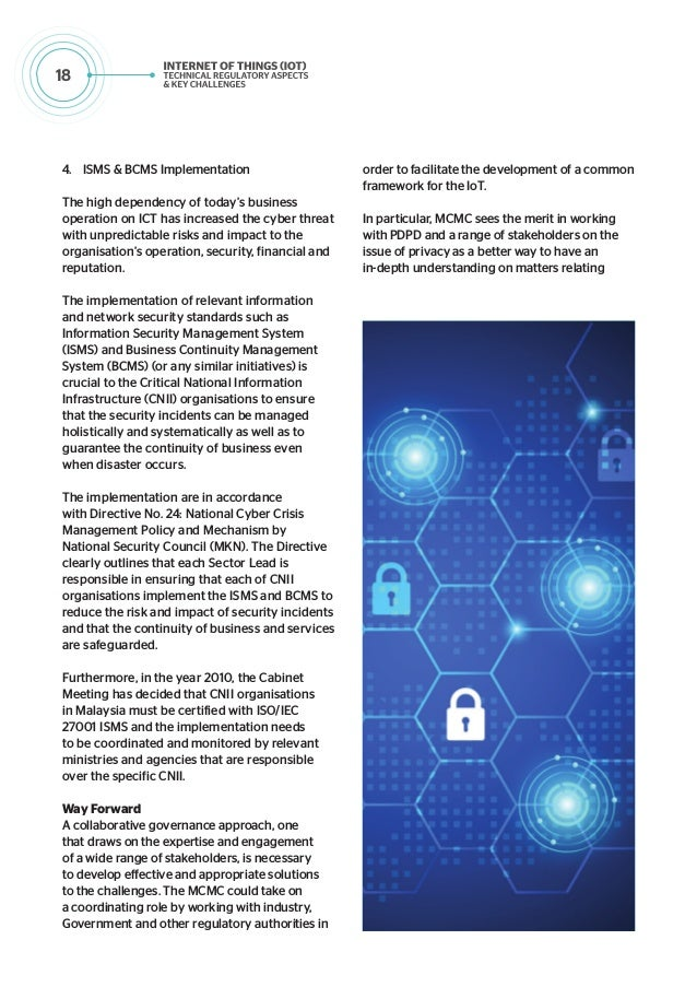 19 to information security and design regulatory or non-regulatory initiatives, which includes developing best practices a...