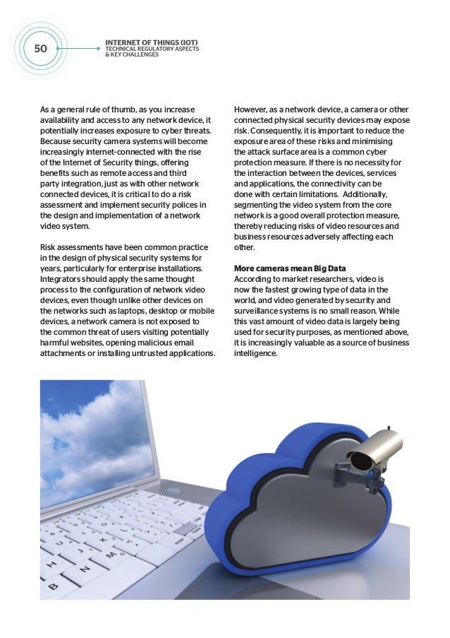 IoT - Technical Regulatory Aspects and Key Challenges