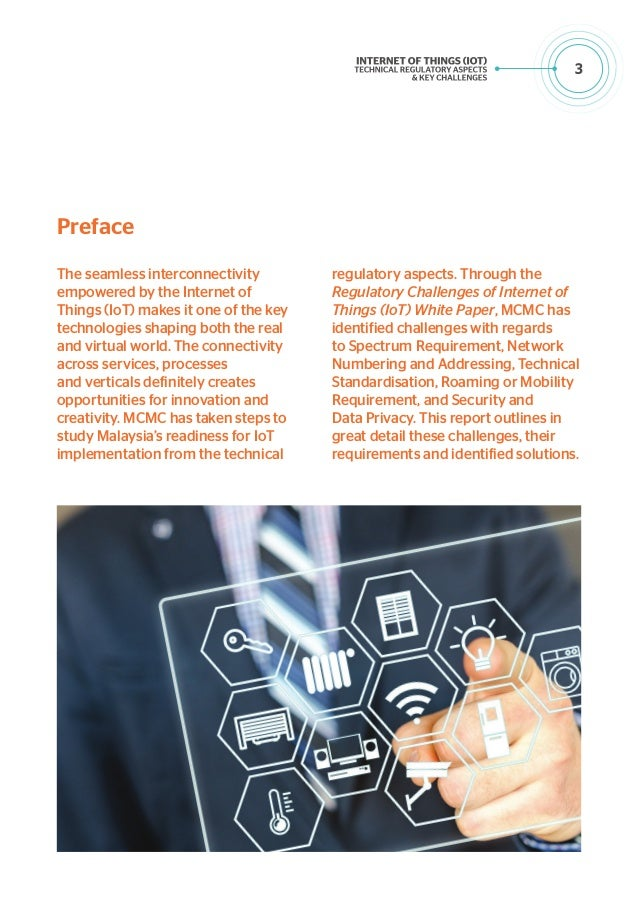4 Executive Summary The Internet of Things' (IoT) potentials to drive disruptive changes across various verticals presents...