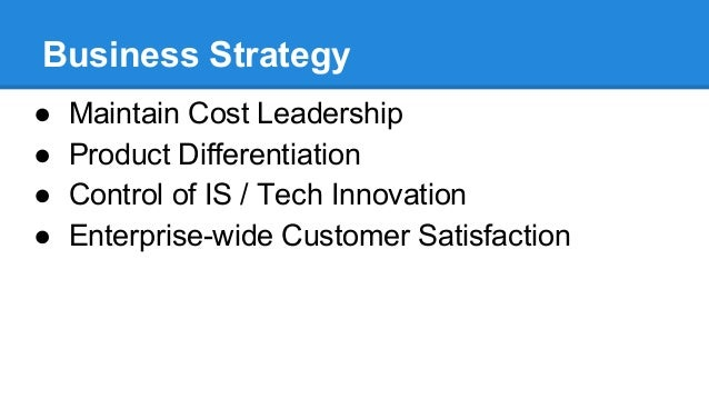 The Successful Cost Leadership Strategy Of Walmart The