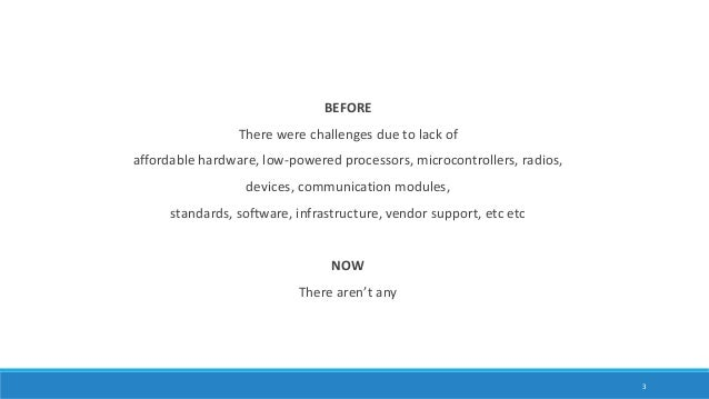 Internet of Things 101 - For software engineers Slide 3