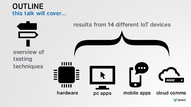 DEF CON 23: Internet of Things: Hacking 14 Devices