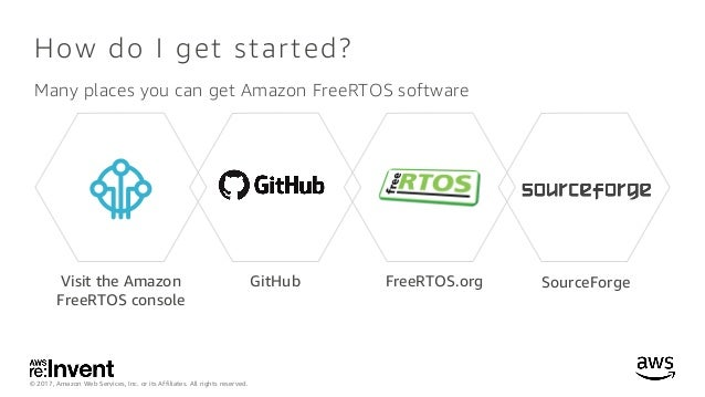 NEW LAUNCH! Amazon FreeRTOS: IoT Operating System for