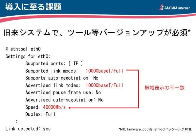 x86サーバにおける40Gigabit Ethernet 性能測定と課題 Slide 2