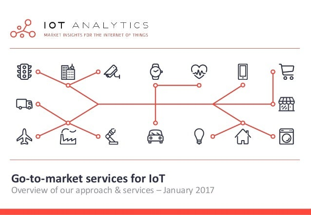 Go-to-market services for IoT Overview of our approach & services – January 2017