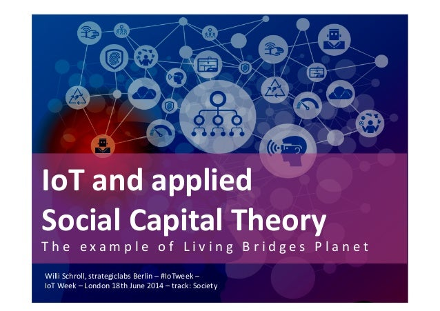 IoT	   and	   applied	   	    Social	   Capital	   Theory	    T h e 	    e x a m p l e 	    o f 	    L i v i n g 	    B r ...