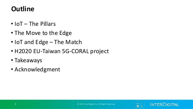 5G and edge computing - CORAL perspective Slide 2