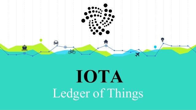 IOTA Ledger of Things
