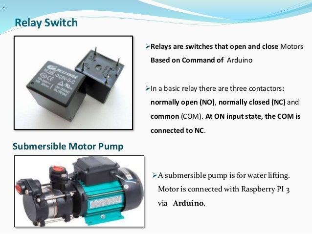 Iot based smart irrigation system