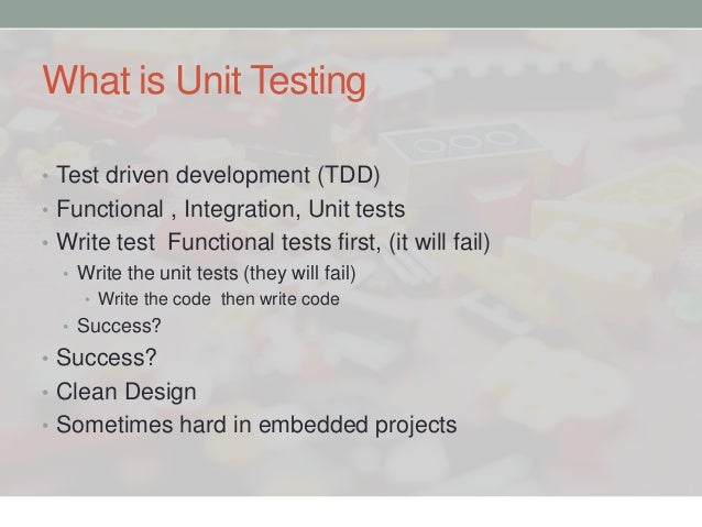 embedded testing with unity and cmock pdf