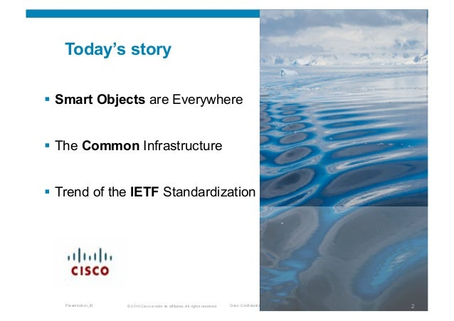 Trend of the ICT Standardization Slide 2