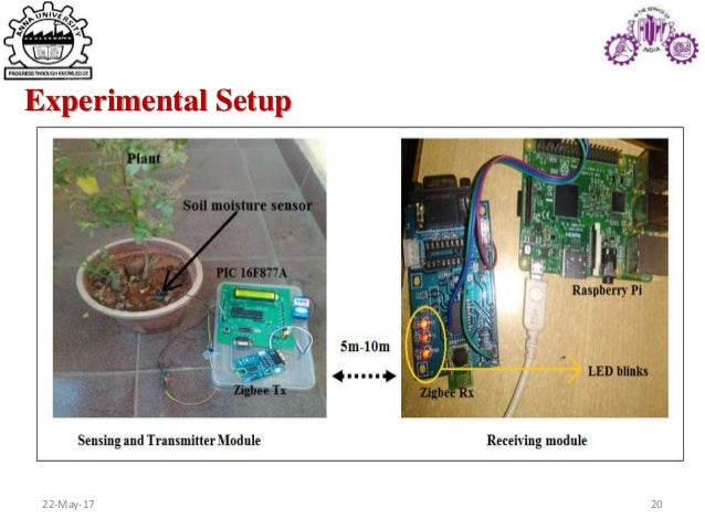 Moisture Monitoring System : Io t enabled plant soil moisture monitoring system using