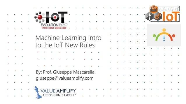 By: Prof. Giuseppe Mascarella giuseppe@valueamplify.com
