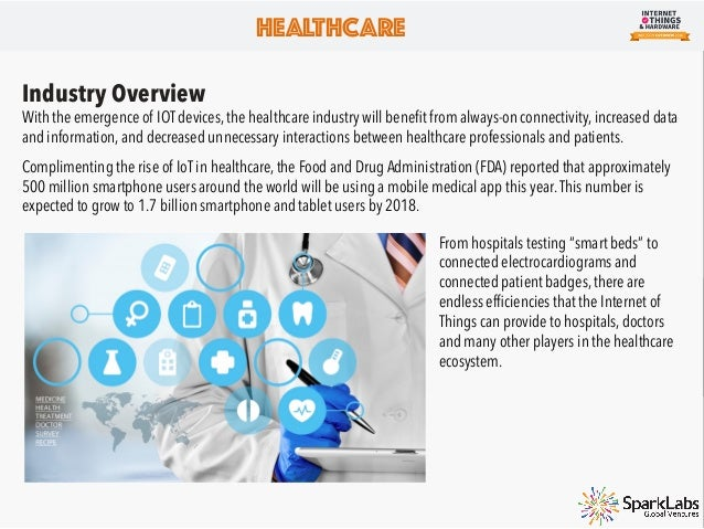HEALTHCARE Growth Areas We believe it is too early in the innovation cycle to choose or rank the greatest impact that the ...
