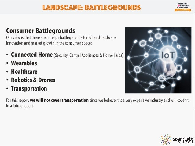 """Landscape: Industrial IoT """"Industrial IoT will dramatically change how many Fortune 500 companies operate. This is not onl..."""