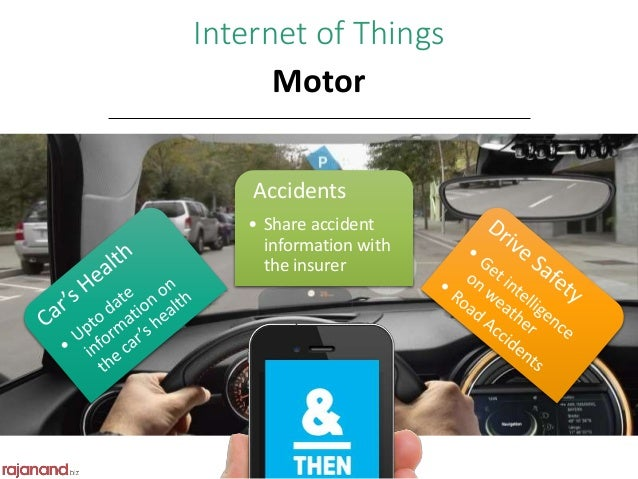 internet of things and insurance Insurance firms are realising that they can increase their profitability metrics and better their risk modelling by investing in the internet of things.