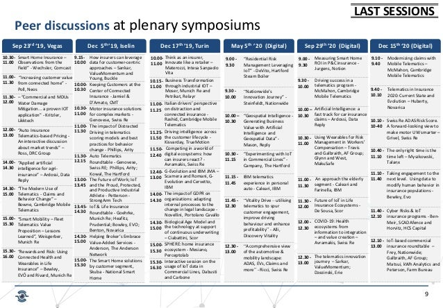 """9 Peer discussions at plenary symposiums May 5th '20 (Digital) 9.00 - 9.30 """"Residential Risk Management Leveraging IoT"""" - ..."""