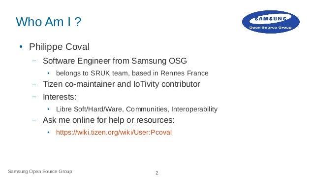 IoTivity on Tizen: How to Slide 2