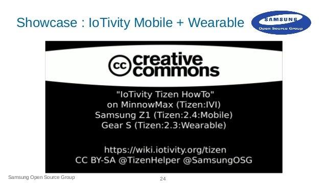 IoTivity on Tizen: How to Slide 24