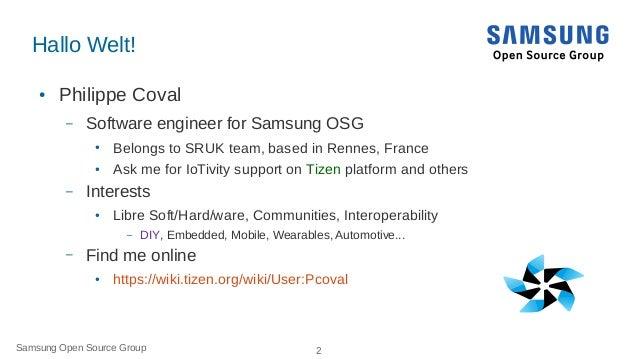 IoTivity Tutorial: Prototyping IoT Devices on GNU/Linux Slide 2