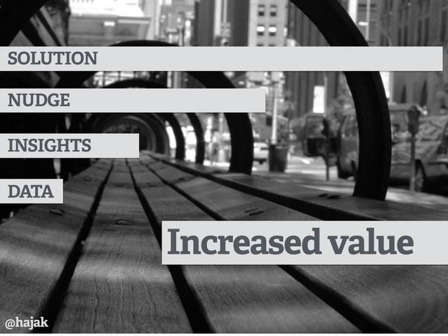 Increasedvalue DATA INSIGHTS NUDGE SOLUTION @hajak