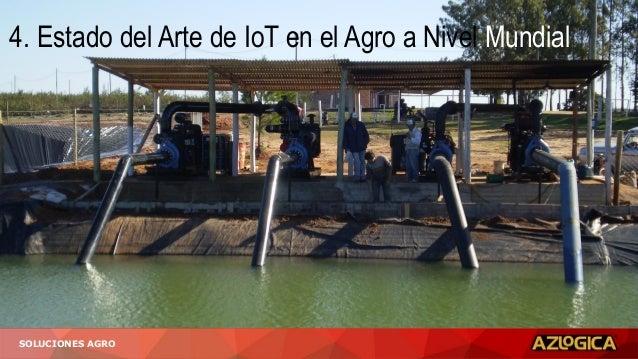 SOLUCIONES AGRO 4. Estado del Arte de IoT en el Agro a Nivel Mundial