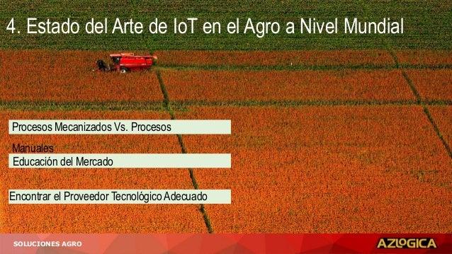 SOLUCIONES AGRO Procesos Mecanizados Vs. Procesos Manuales Educación del Mercado Encontrar el Proveedor Tecnológico Adecua...