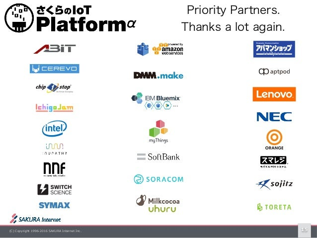 (C) Copyright 1996-2016 SAKURA Internet Inc. 15 Priority Partners. Thanks a lot again.
