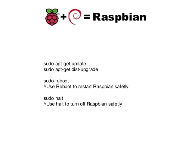 raspberrypi iot lab to switch on and off a light bulb rh slideshare net Ubuntu Apt-Get Windows Apt-Get