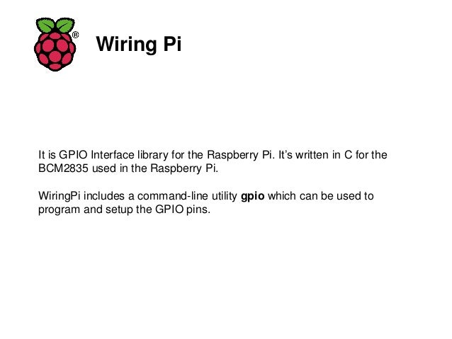 raspberrypi iot lab to switch on and off a light bulb rh slideshare net