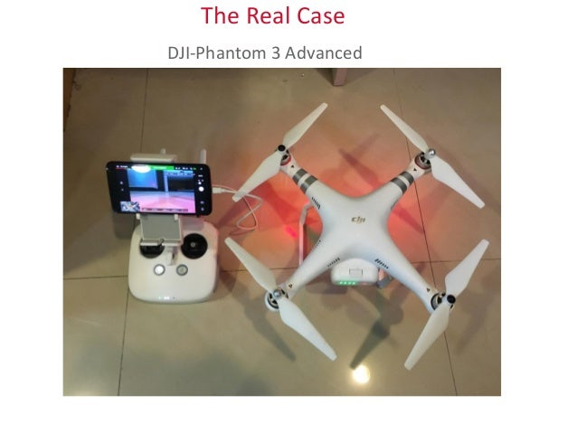 The Real Case DJI-Phantom 3 Advanced