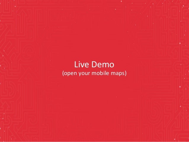 Live Demo (open your mobile maps)