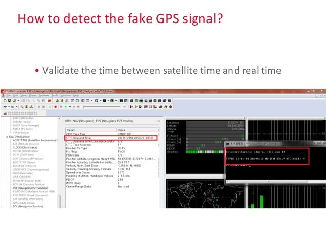 How to detect the fake GPS signal? • Check the motion speed between point to point – For example it is impossible to chang...