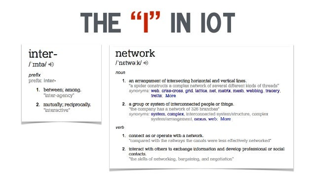"""The """"I"""" in Iot"""