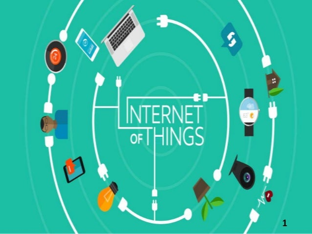 review on Internet Of Things Slide 1