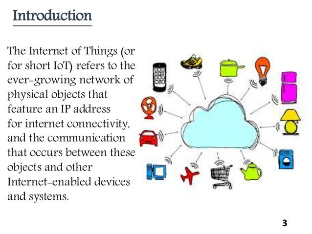 review on Internet Of Things Slide 3