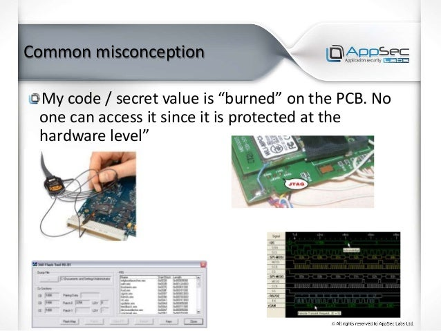 """Common misconception My code / secret value is """"burned"""" on the PCB. No one can access it since it is protected at the hard..."""