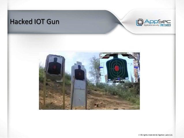 Hacked IOT Gun