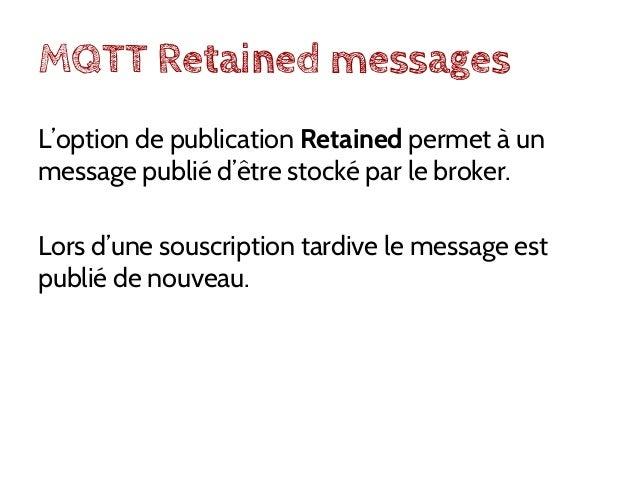 MQTT Sécurité: TLS (PSK ou non). Transport sur websockets