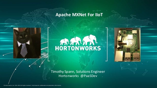1 © Hortonworks Inc. 2011–2018. All rights reserved. © Hortonworks, Inc. 2011-2018. All rights reserved. | Hortonworks con...