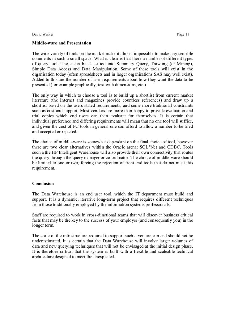 data warehouse thesis Sample essay for berry college thesis data warehousing phd msu admission essay help in assignment.