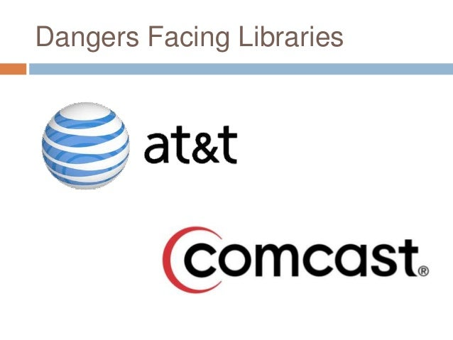 Dangers Facing Libraries
