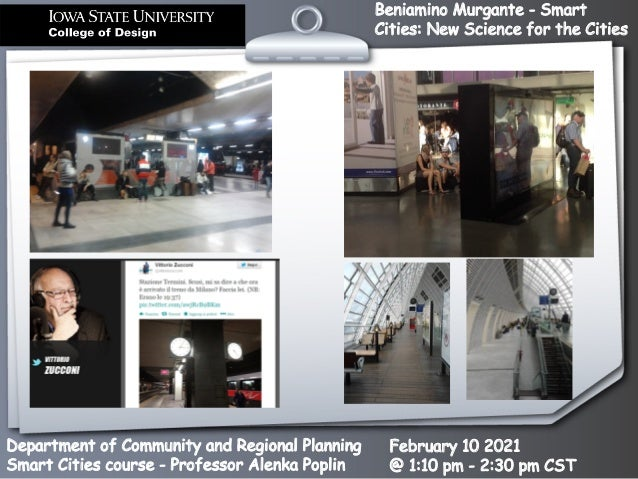 Smart Cities: New Science for the Cities Slide 3