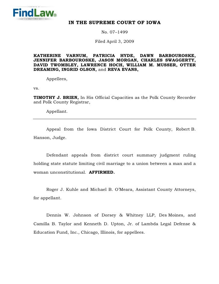 IN THE SUPREME COURT OF IOWA                                  No. 07–1499                                Filed April 3, 20...