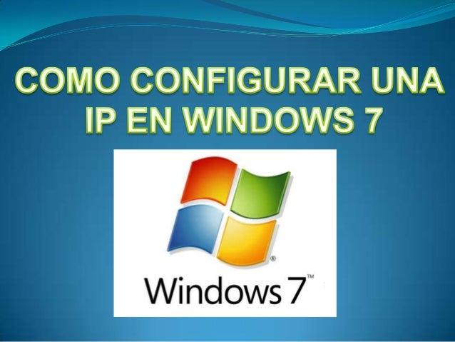  TCP/IP define el lenguaje que el equipo usa para comunicarse con otros equipos. Se recomienda el uso de DHCP (Protocolo ...