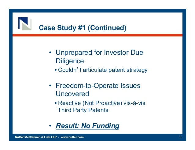 Utilizing ip to access funding for Nutter mcclennen fish llp