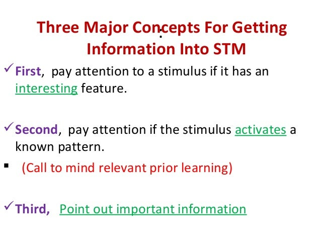 information processing and implications to teaching and learning Information-processing theory has definite educational implications for students  with learning and behavior problems teachers with a greater understanding of.