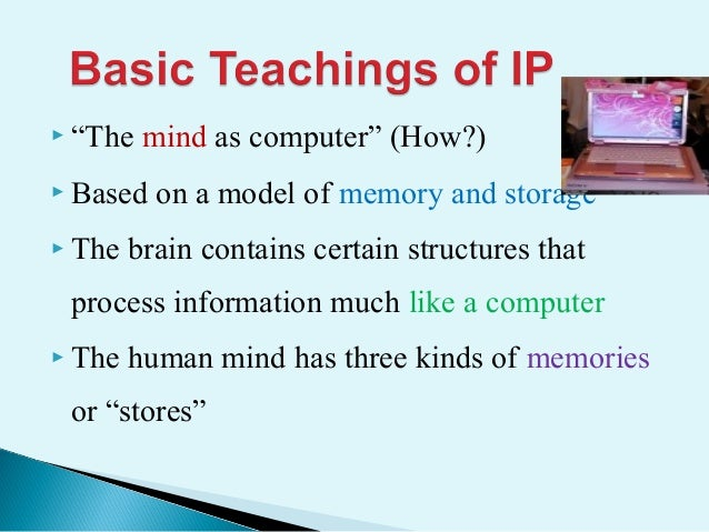 information processing and implications to teaching and learning The information processing and implications to teaching and learning is one of the most popular assignments among students' documents if you are stuck with writing or missing ideas, scroll down and find inspiration in the best samples.